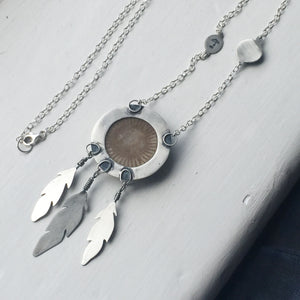 Solaris Dreamcatcher Necklace
