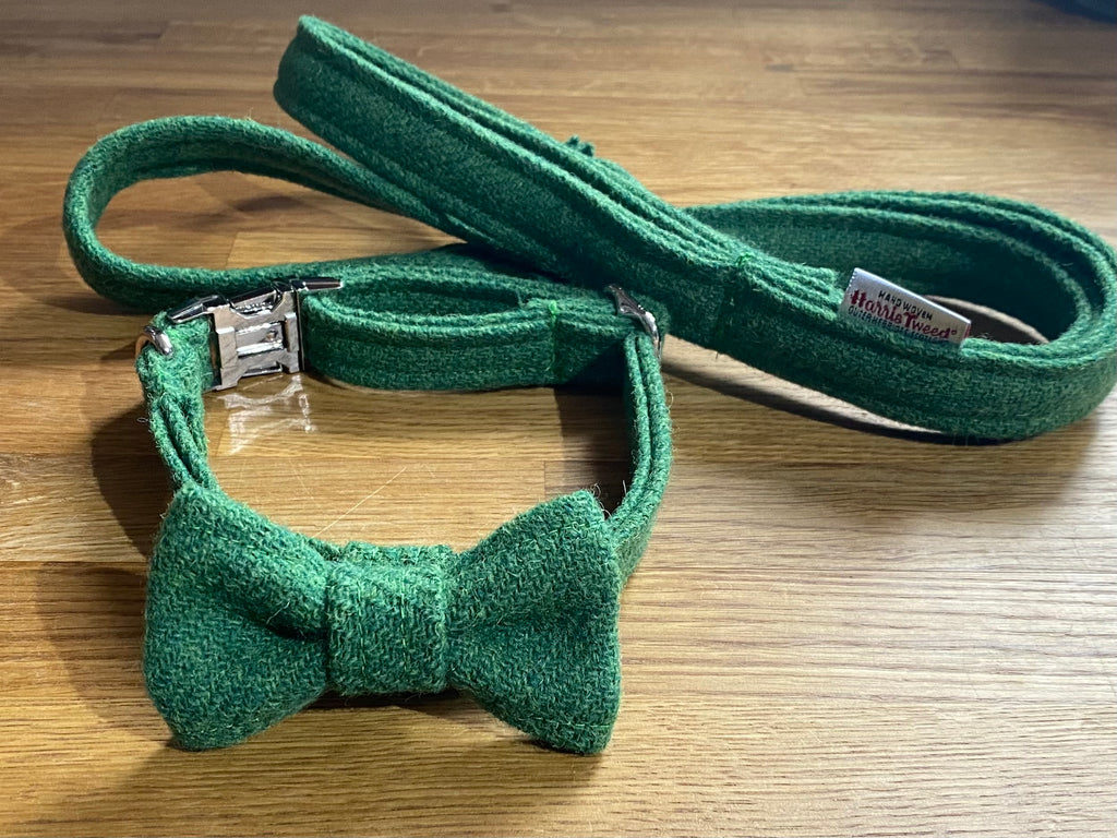 Green Harris Tweed