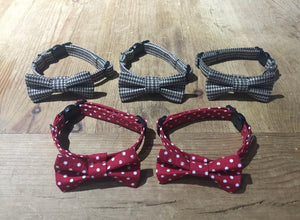 Red Polka Dot Cat Collar
