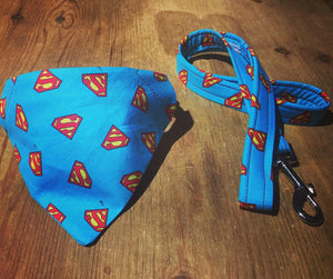 Superman Bandana Collar