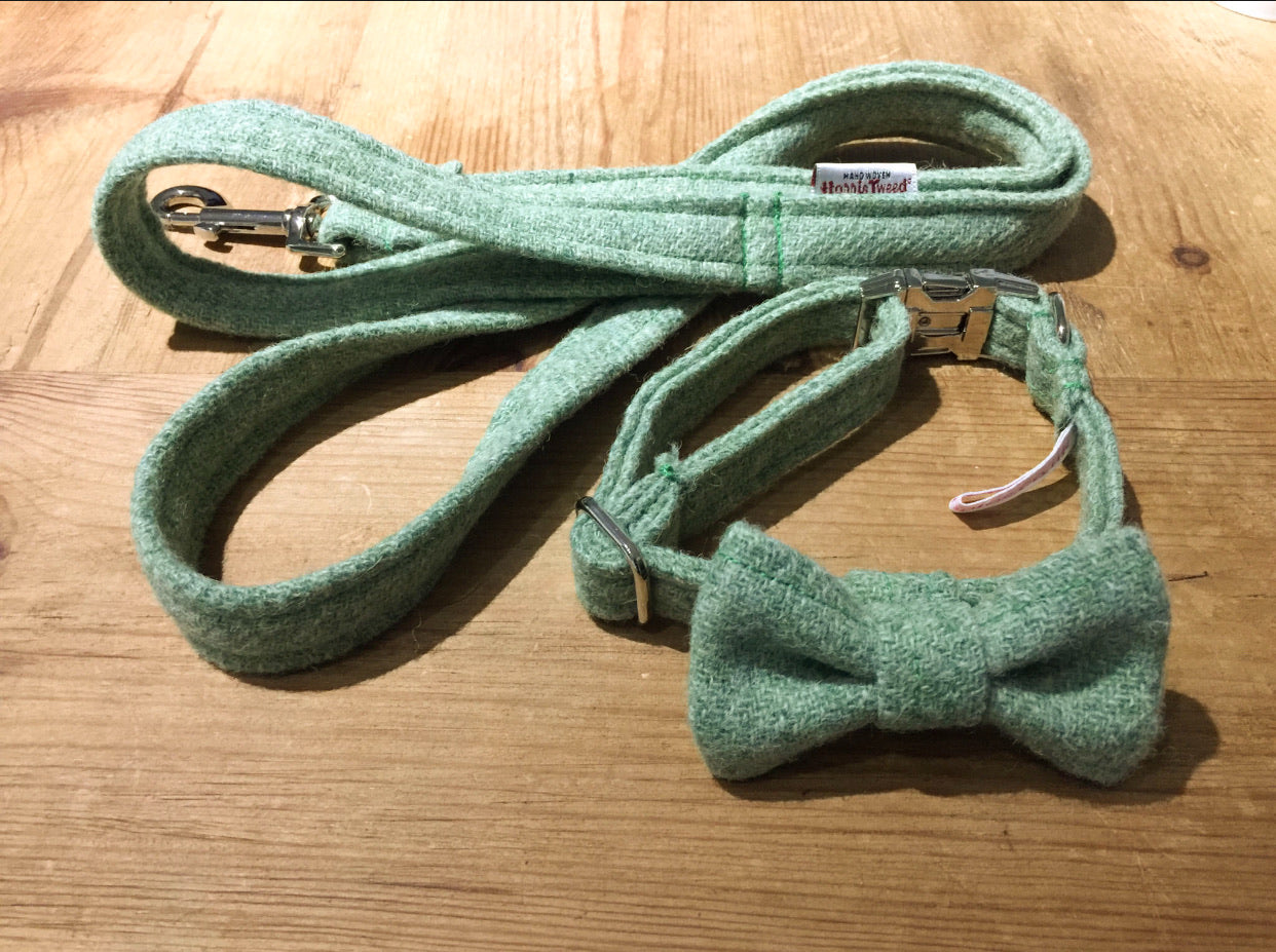 Mint Green Harris Tweed