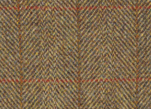 Mustard Herringbone Harris Tweed