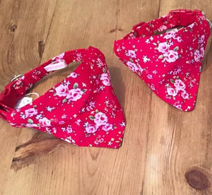 Red Twee Bandana Collar