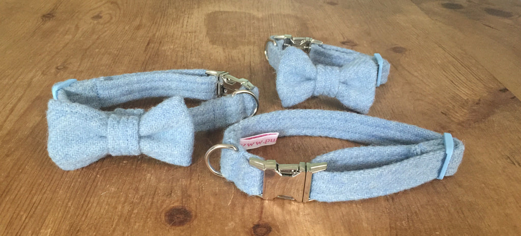 Baby Blue Harris Tweed
