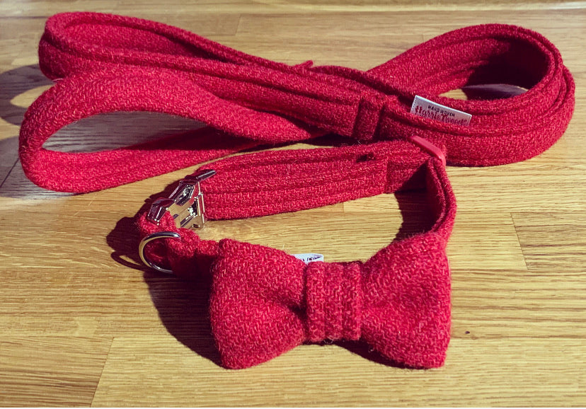 Red Harris Tweed