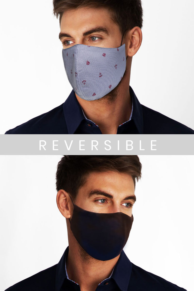 Face Mask - Captains Cool Design (Non-Returnable)