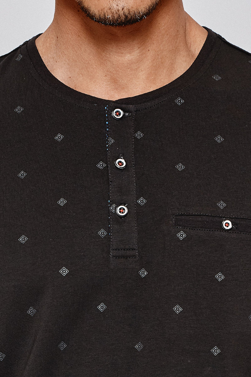 Rising Star Henley in Black