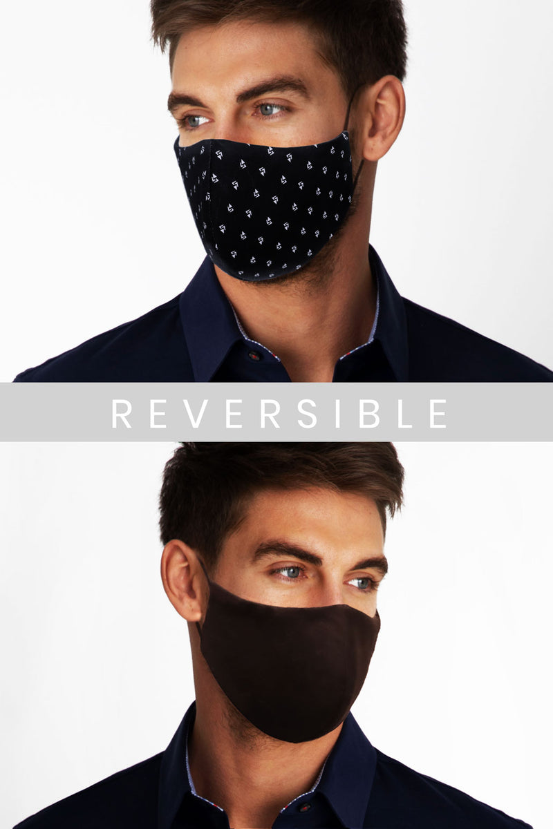 Reversible Face Mask - Atzec Pattern (Non-Returnable)