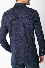 Northern Speckle in Navy