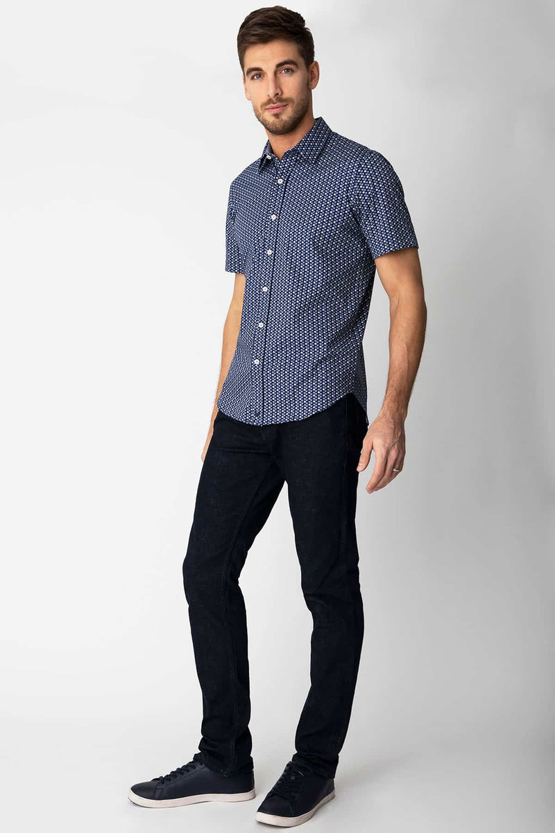 Modern Rubix in Blue - FINAL SALE