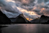 Smoke over Milford Sound