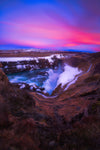 Gullfoss Magic Sunset - Andre Distel Photography
