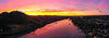 Panoramic Rhine River Sunrise