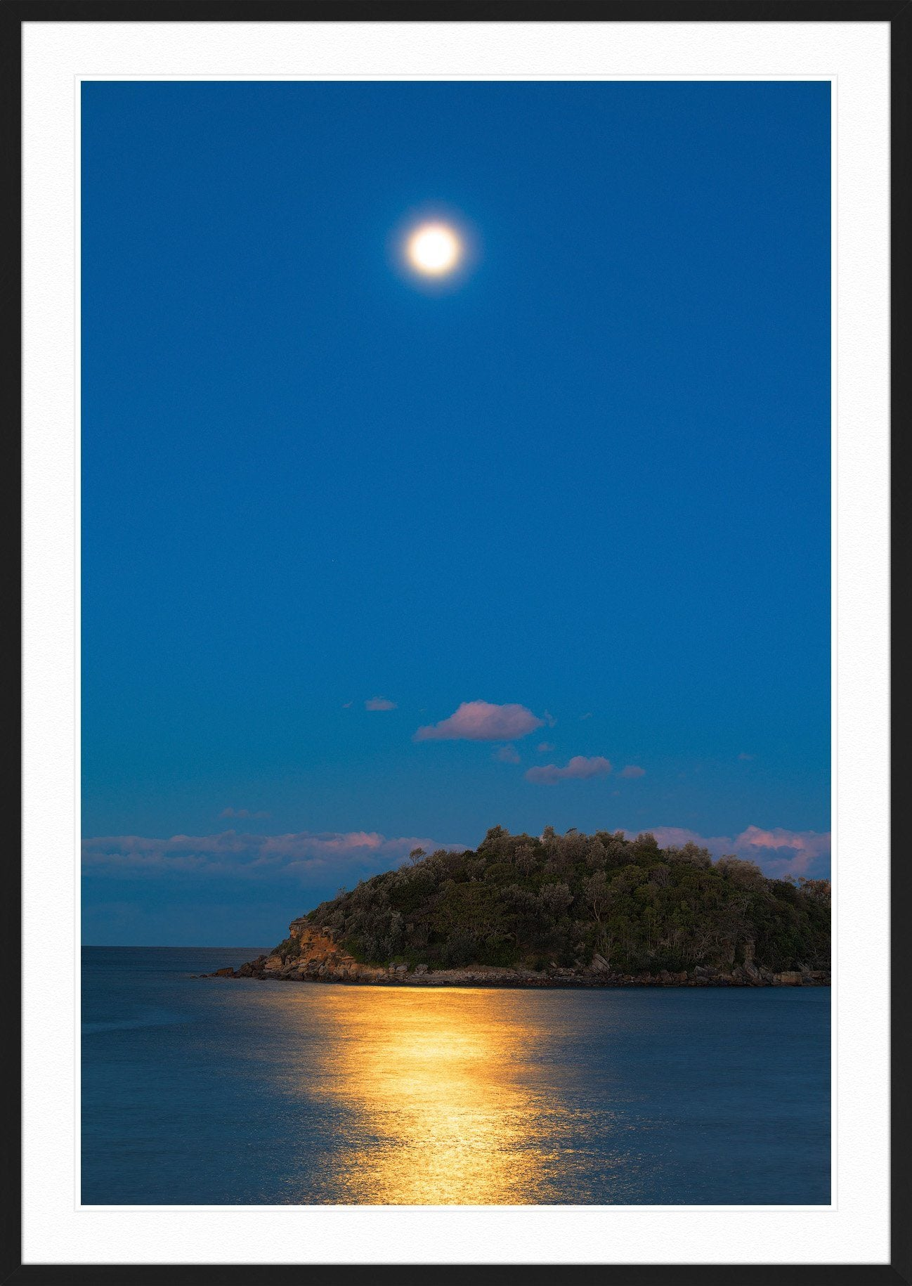 08c184ba951 Full moon at manly beach fine art landscape photography jpg 1298x1830 Manly  frames