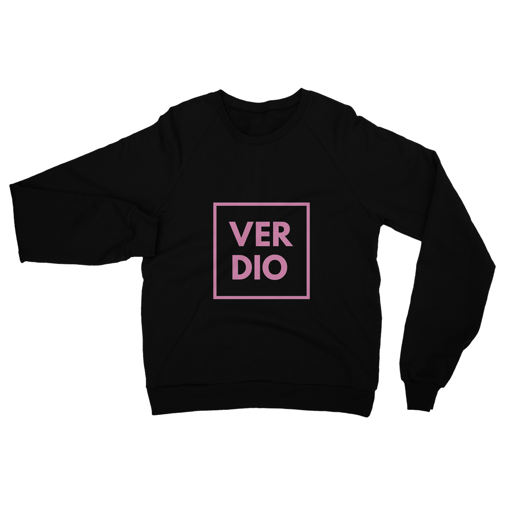 PINK BLACK Heavy Blend Crew Neck Sweatshirt