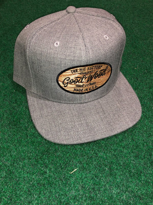 Good Wood Grained Snapback