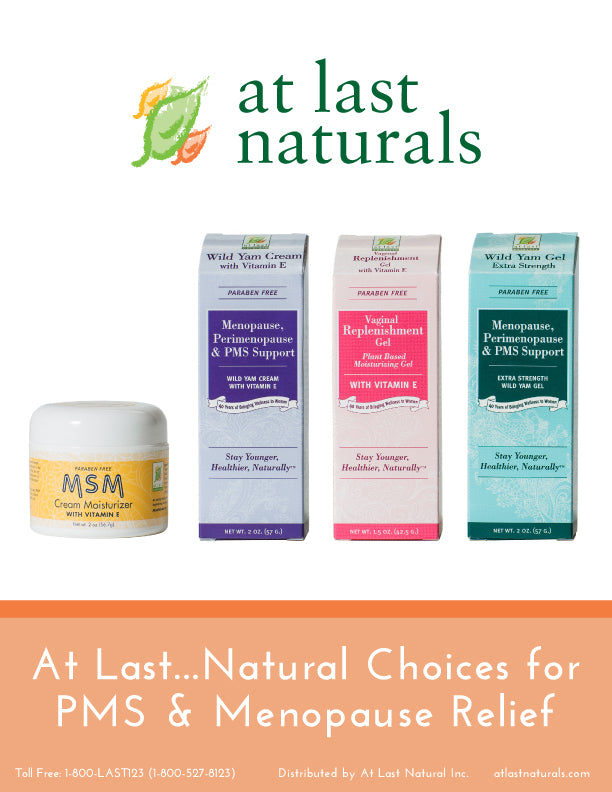 At Last Naturals Sell Sheet
