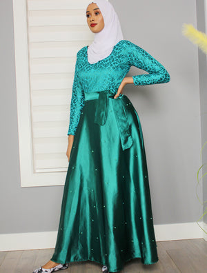 Elegant Sis Stoned Dress