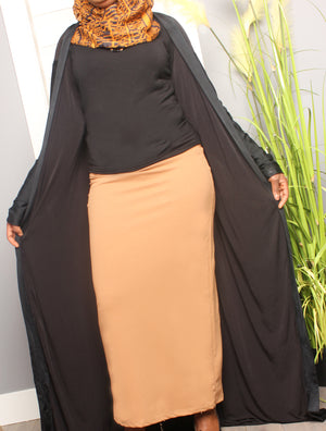 Best of Plains Long Skirt - Brown