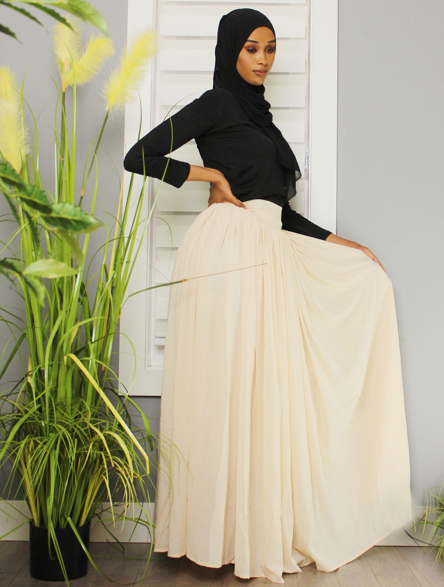 Endless Possibilities Bow Tie Chiffon Skirt
