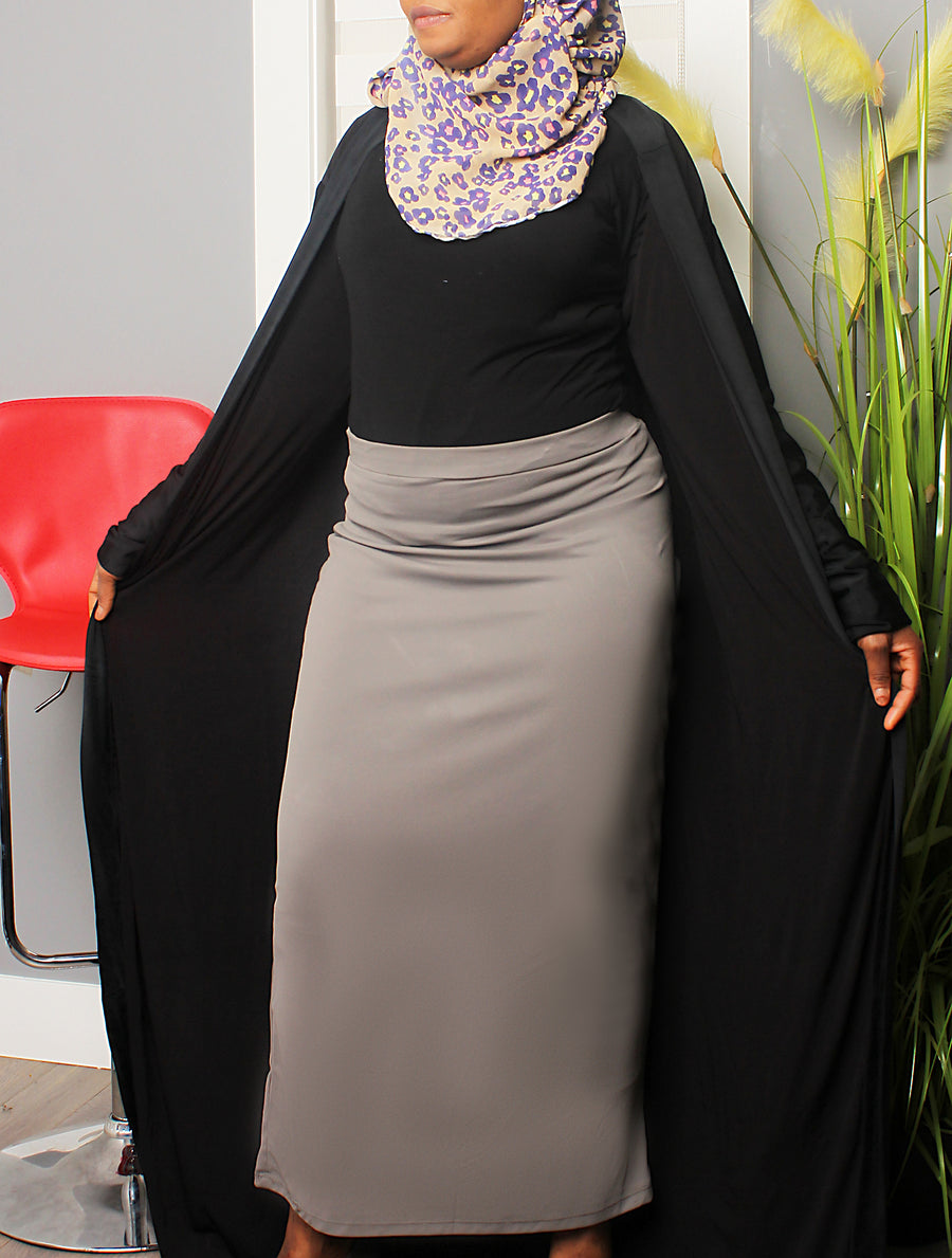 Best of Plains Long Skirt - Gray