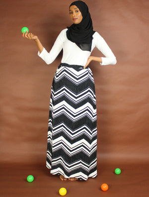 Fancy Delight A-Line Maxi Skirt