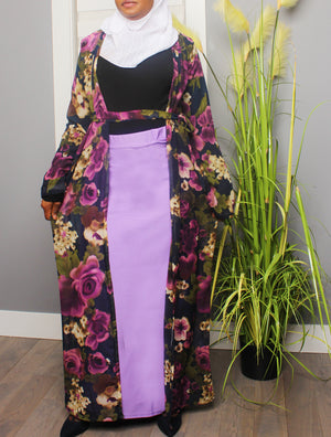 Floral Addiction Long Kimono