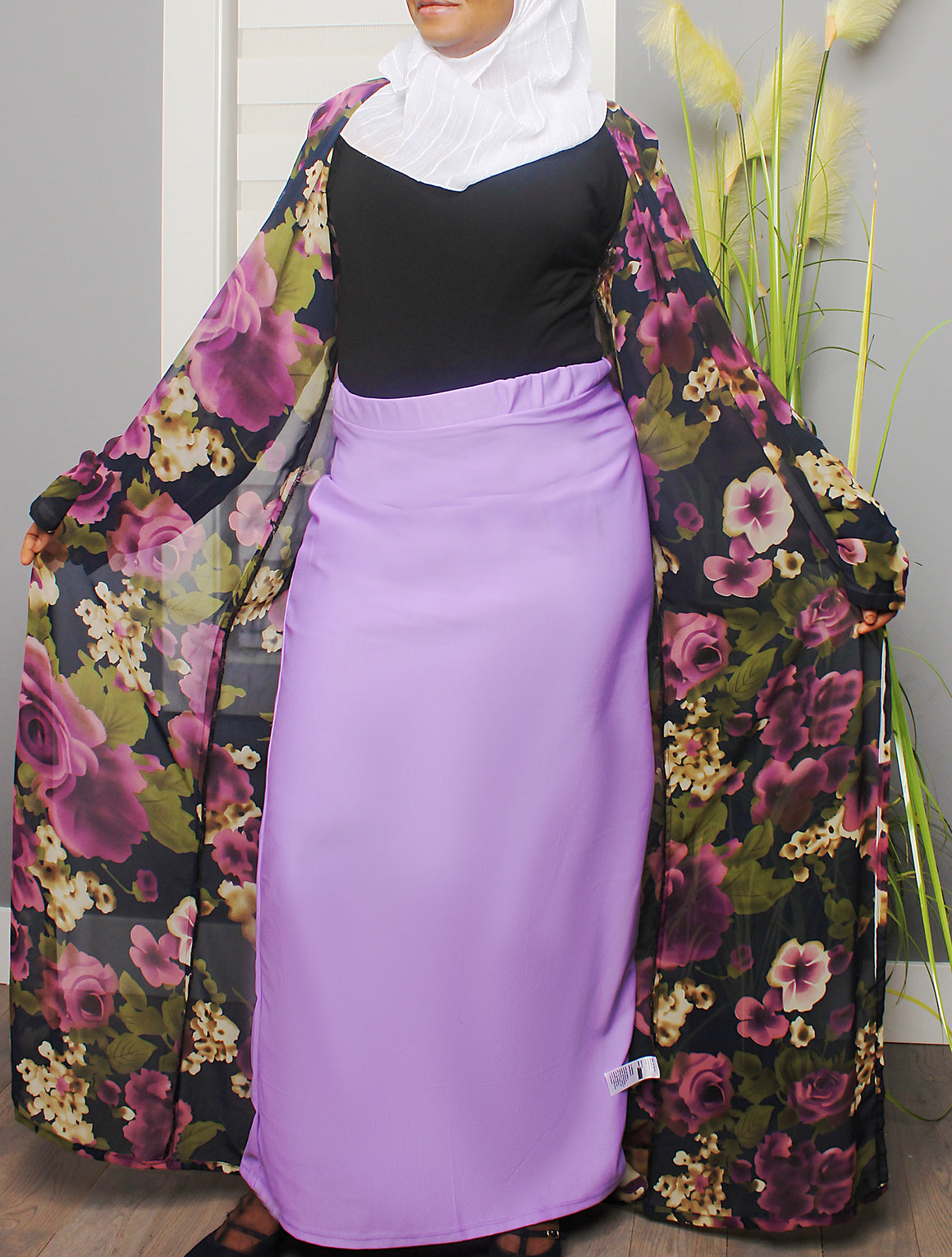 Best of Plains Long Skirt - Purple