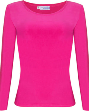 Body Shirt in Plain Pink