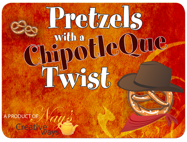 Pretzels with a ChipotleQue® Twist - 6 Ounce