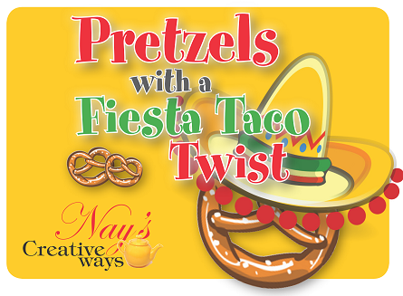 Pretzels with a Fiesta Taco Twist - 6 Ounce