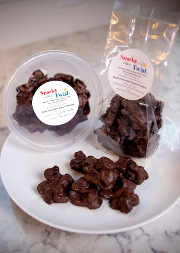 Dark Chocolate Raisin Clusters 8 ounce