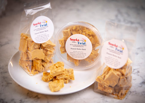 Peanut Butter Bark - 8 ounce Package