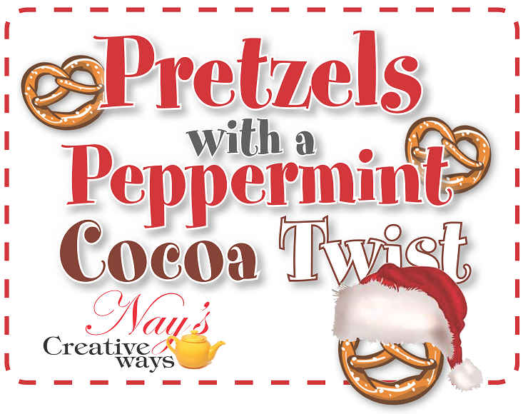 Pretzels with a Peppermint Cocoa Twist - 6 Ounce