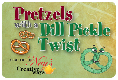 Pretzels with a Dill Pickle Twist - 6 Ounce