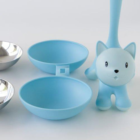 Land-of-Meow-Alessi-Tigrito-Double-Bowl-Blue-Separated