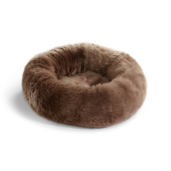 Land of Meow | Mia Cara Lana Cat Bed - Taupe
