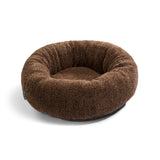 Land of Meow | Mia Cara Sherpa Cat Bed - Brown
