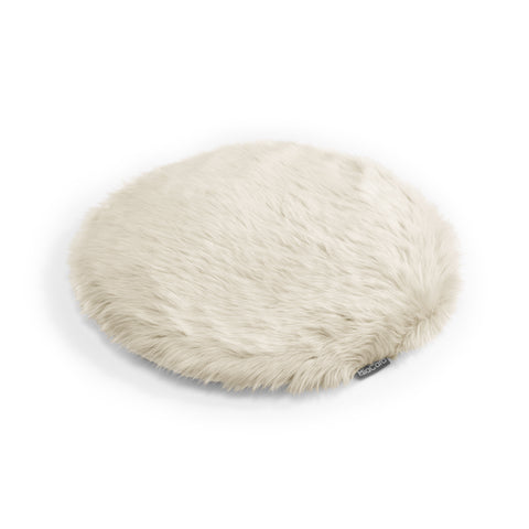 Land of Meow | Mia Cara Lana Cat Cushion - Ivory