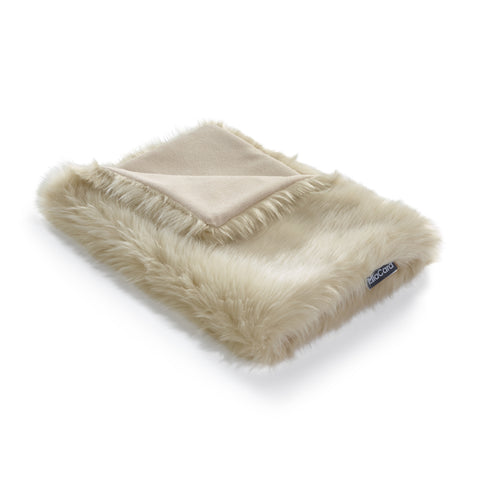 Land of Meow | Mia Cara Lana Cat Blanket - Ivory