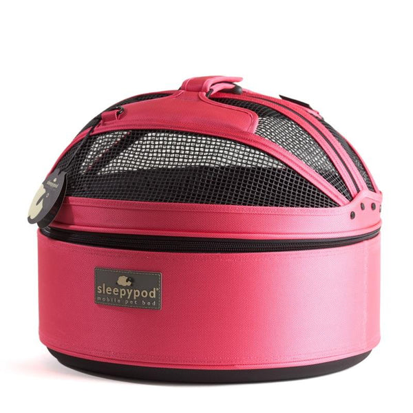 Land of Meow SleepyPod Cat Carrier Blossom Pink Top