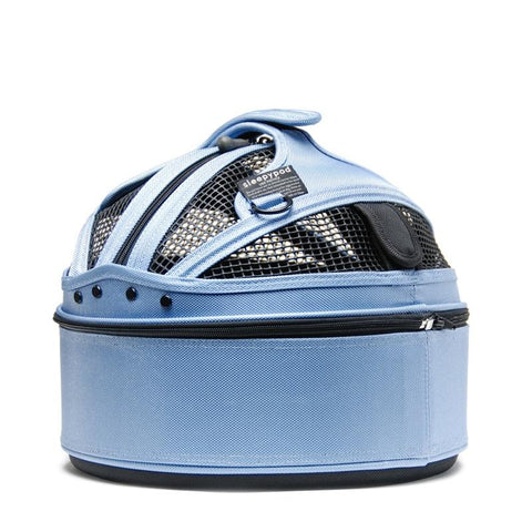 Land of Meow SleepyPod Mini Cat Carrier Sky Blue Back