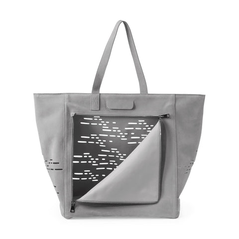 Tosca Cat Travel Bag - Cement Grey