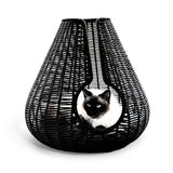 Perla Cat Cave Black