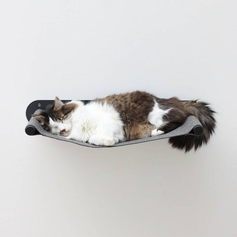 Cat Hammock Swing - Black/Grey