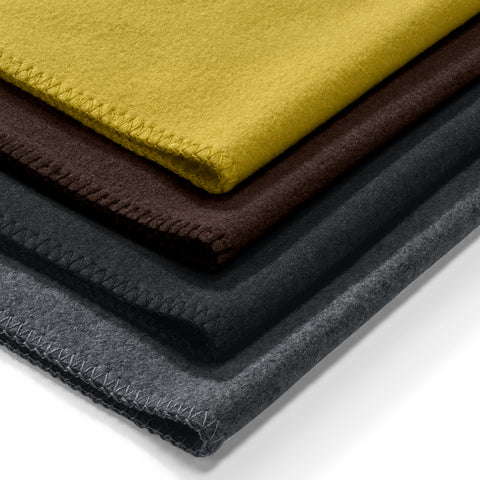 Unica Fleece Blanket - Mustard