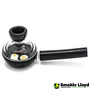 Wake and Bake Frying Pan Glass Smoking Pipe