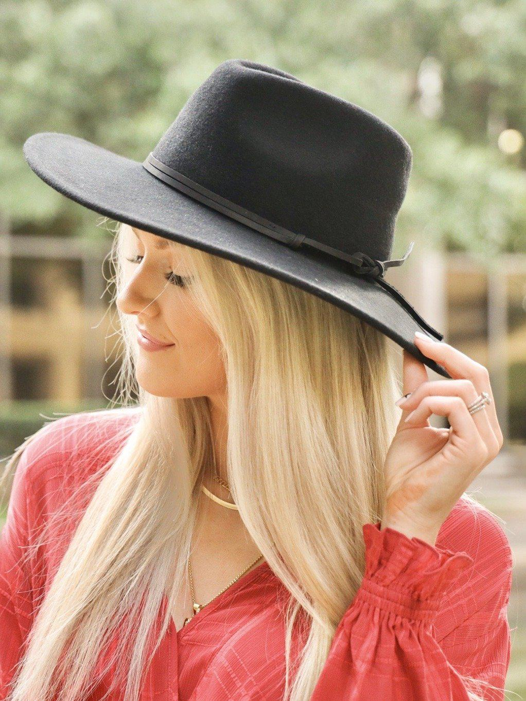 Good in Black Hat-Women's -New Arrivals-Runway Seven