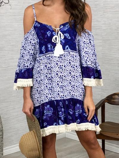 Breezy and Blue Dress-Women's -New Arrivals-Runway Seven