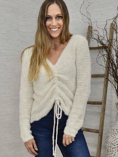 Center of Attention Sweater-Women's -New Arrivals-Runway Seven